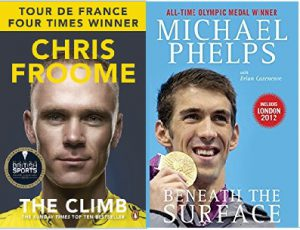 Chris Froome The Climb and Michael Phelps Beneath the Surface