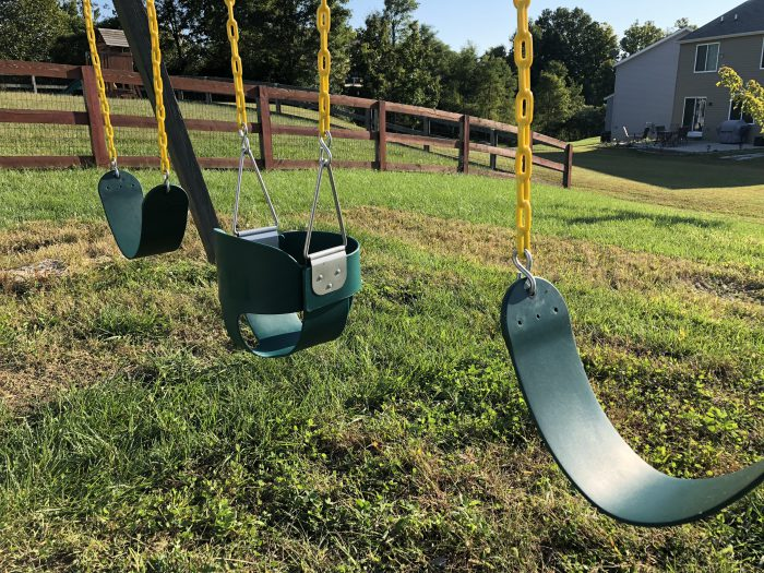swingset saddles