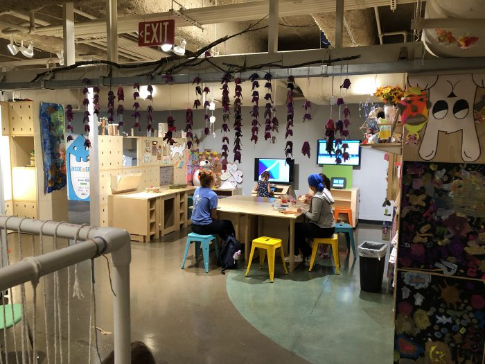 Children's Museum Art Area