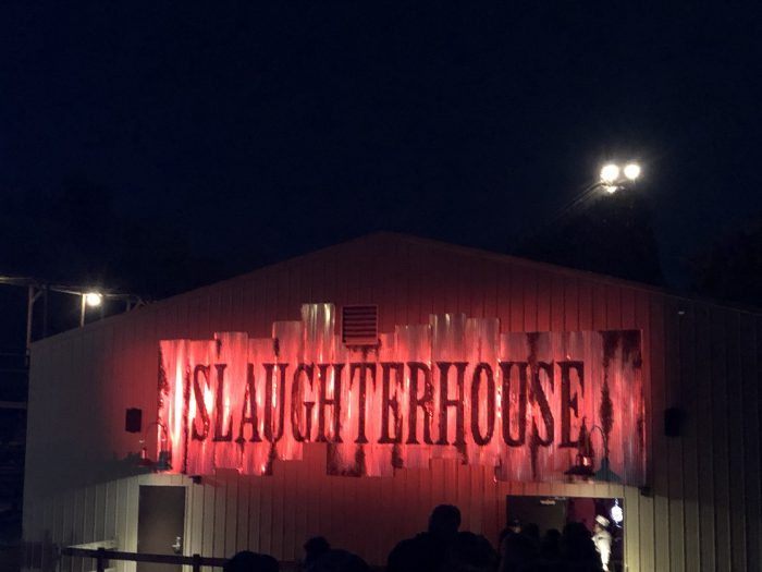 Kings Island Haunt Slaughter House