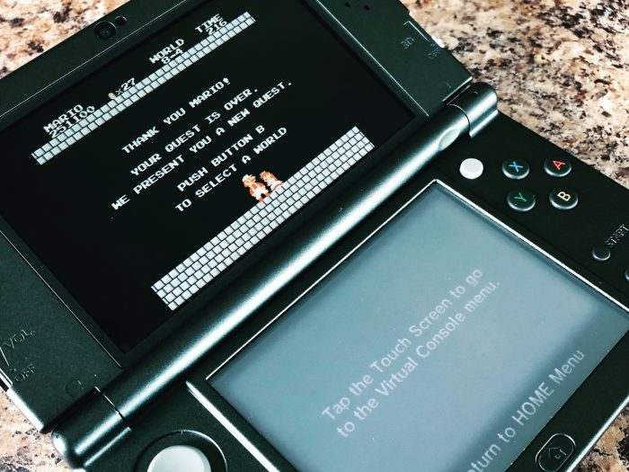 Super Mario Brothers on the 3DS