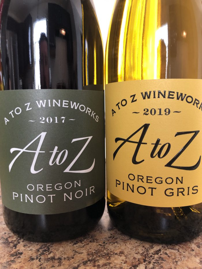 A to Z Wineworks Orgeon Pinot