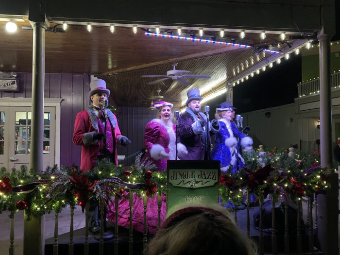 Kings Island Winterfest Singers Jingle Jazz
