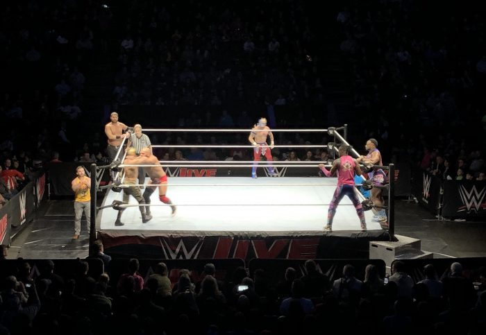 WWE Match The New Day Versus B Team