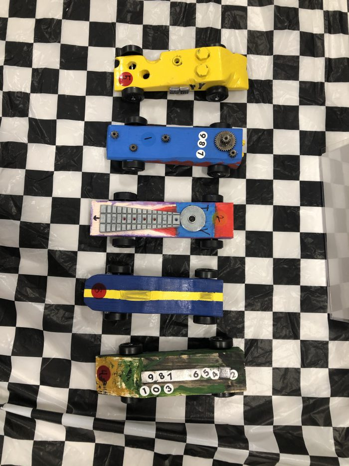 Cub Scouts Pinewood Derby Cars