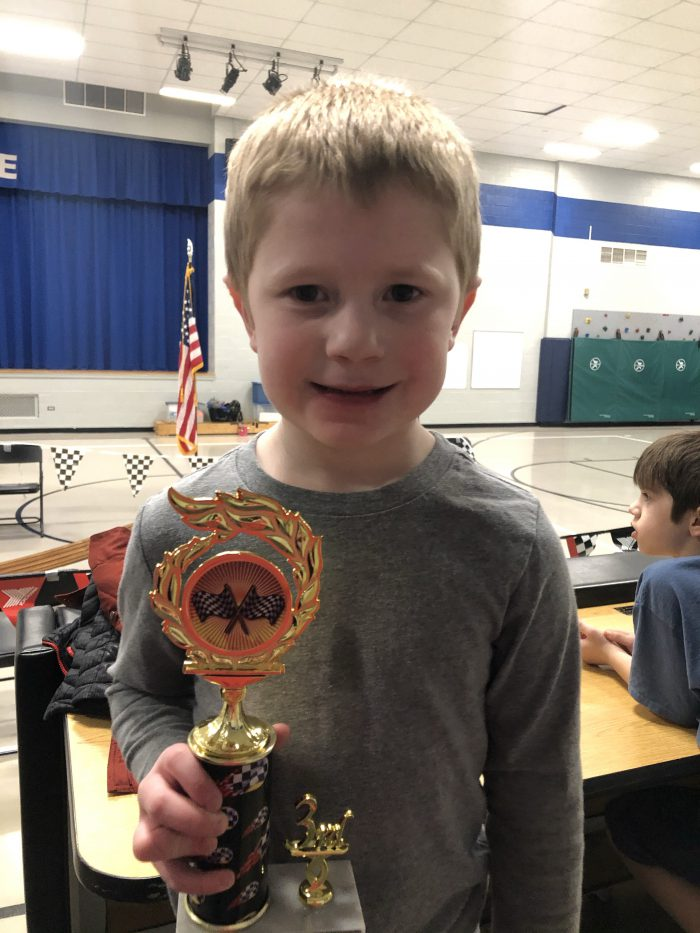Cub Scouts Pine Wood Derby Trophy