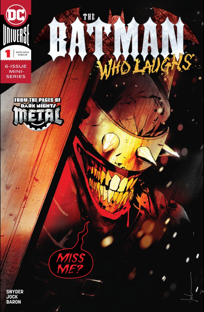 The Batman Who Laughs Issue 1